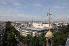 Printemps Haussmann (Eyal Peleg) Tags: printemps haussmann paris tour eiffel pantheon city cityscape urban architecture sky