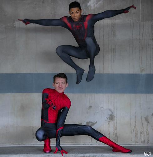 Spiderman cosplay