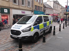 Police Scotland Ford Transit Custom (SF68 ASU) (Neil 02) Tags: policescotland fordtransitcustom sf68asu policevan policevehicle emergencyservices inverness invernessshire scotland scottishhighlands