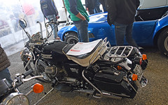 Moto Guzzi California V850 GT (1974) // VE-119940 (baffalie) Tags: auto voiture ancienne vintage classic old car coche retro expo italia sport automobile racing motor show collection club course race circuit italie padoue fiera moto bike motorbike motocycle