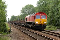 66135-NT-04062019-1 (RailwayScene) Tags: class66 66135 db dbcargo northallerton lowgates