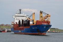 BBC Fuji.. Tyne 170719 (silvermop) Tags: ship boats ships sea heavyliftvessels cargovessels port rivertyne bbcfuji