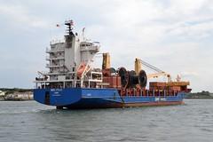 BBC Fuji.... Tyne 170719 (silvermop) Tags: ship boats ships sea heavyliftvessels cargovessels port rivertyne bbcfuji