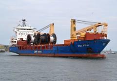 BBC Fuji... Tyne 170719 (silvermop) Tags: ship boats ships sea heavyliftvessels cargovessels port rivertyne bbcfuji