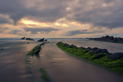 Goodbye Barrika (teredura58) Tags: barrika seascape marina rocas verdes clouds nubes