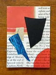 Reading Rothko 2 (Tim Ereneta) Tags: artisttradingcard collage abstract atc papercollage