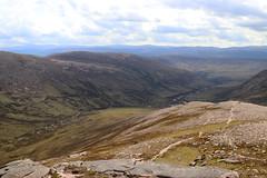 Above Glen Lui (steve_whitmarsh) Tags: topic aberdeenshire scotland scottish highlands landscape mountain hills panorama glen valley glenlui