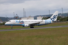 Flybe G-FBJE BHD 11/07/19 (ethana23) Tags: planes planespotting aviation avgeek aeroplane aircraft airplane embraer e175 175 flybe