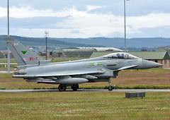 ZJ913 - WS-Y (np1991) Tags: royal air force raf lossiemouth lossie moray scotland united kingdom uk nikon digital slr dslr d7200 camera nikor 70200mm 70 200 vibration reduction vr f28 lens eurofighter typhoon fgr4 ixb ix 9 nine bomber b squadron sqn wsy zj913