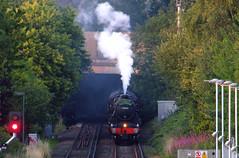 Sunset Five (Colin Weaver) Tags: steamdreams blackfive 44871 stanier heritage steam loco locomotive train railway railroad railtour