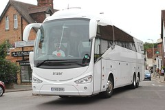Anita's Coach & Minibus Hire Ltd . Stansted Airport , Essex . VV15ERN ( ex ? ) . Hockrill , Bishop's Stortford , Hertfordshire . Tuesday 17th-July-2019 . (AndrewHA's) Tags: hertfordshire bishopsstortford bus coach anita's stansted airport essex irizar i6 vv15ern