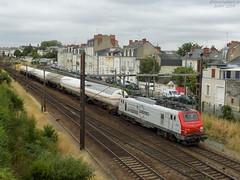 E37504 Europorte + Citernes (Christopher L.N) Tags: e37500 e37504 angers europorte wagons citerne fret train prima