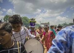BONALU (RAJESH REDDY PHOTOGRAPHY) Tags: hindufestival telangana festival faith religion celebration band drums dance telugu golcondafort indianpeople indiandevotee spiritual bonam bonnalu pandaga