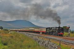 Blea Moor - The Fellsman (paul_braybrook) Tags: 70000 britannia brstandard pacific steamlocomotive bleamoor settleandcarlisle fellsman charter saphos railtour railway trains