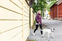 kuopio heinäkuu 2 (VisitLakeland) Tags: finland kuopio kuopiotahko lakeland summer animal dog eläin kaupunki keskusta kesä koira luonto outdoor sekarotuinen street streetview