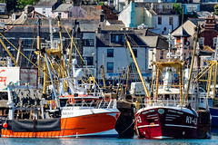 Fishing Boats (Maskedmarble) Tags: ky43eternalfriend bd287ourdavidgeorge trawlers devon brixham harbour