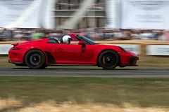 Porsche 911 Speedster ({House} Photography) Tags: fos goodwood festival speed 2019 hill climb show panning housephotography timothyhouse canon 70d sigma 150600 contemporary car automotive porsche 911 speedster convertible