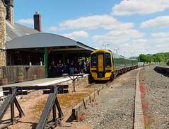 158958 Barnstaple (2) (Marky7890) Tags: gwr 158958 class158 expresssprinter 2f39 barnstaple railway devon tarkaline train