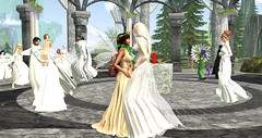 Spring Welcoming Ceremony ~ Yestarë: Vinya Loa. The Elven New Year. (Osiris LeShelle) Tags: secondlife second life avilion heart awen shrine quendi spring welcoming ceremony ~ yestarë vinya loa the elven new year druid druids medieval fantasy roleplay