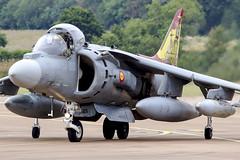 McDonnell Douglas EAV-8B Matador II+ VA1B-37 (MichaelHind) Tags: spanish navy armada escuadrilla 009 rota ab riat 2019 raf fairford mcdonnell douglas eav8b matador ii va1b37 airshow aviation royalinternationalairtattoo friat raffairford harrier