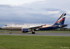 Aeroflot A320-200 VQ-BKU (birrlad) Tags: dublin dub international airport ireland aircraft aviation airplane airplanes airline airliner airlines airways arriving arrival landing landed runway taxi taxiway stand gate terminal sunset dusk airbus a320 a320200 a320214 vqbku aeroflot su2590 moscow sheremetyevo