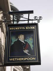 Becketts Bank, Leeds (Wetherspoon) (Ray's Photo Collection) Tags: pub wetherspoon leeds sign beckettsbank west yorkshire yorks england uk publichouse