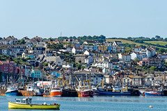 The Harbour (Maskedmarble) Tags: devon brixham harbour trawlers