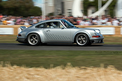 Porsche 911 DLS by Singer ({House} Photography) Tags: fos goodwood festival speed 2019 hill climb show panning housephotography timothyhouse canon 70d sigma 150600 contemporary car automotive porsche 911 dls dynamic light study reimagined by singer