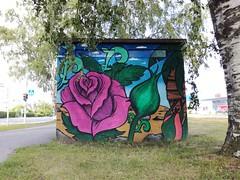 Nekala (Thomas_Chrome) Tags: graffiti streetart street art spray can wall walls nekala tampere suomi finland europe nordic legal mural