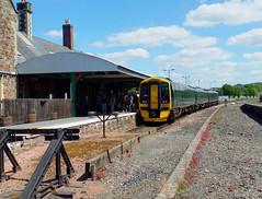158958 Barnstaple (1) (Marky7890) Tags: gwr 158958 class158 expresssprinter 2f39 barnstaple railway devon tarkaline train