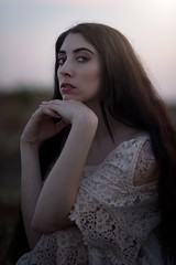 Renaissance (Filippo Romani) Tags: portrait girl model sunset eyes mood soul