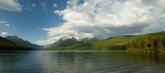 Bowman Lake Wide View (Ken Krach Photography) Tags: bowmanlake glaciernationalpark