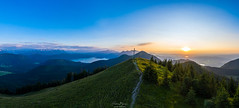 Sonnenuntergang in den Alpen (F!o) Tags: bayern deutschland jachenau sunset mountains alps sunrise sonnenuntergang hiking aerial berge alpen sonnenaufgang walchensee wandern mavic kochelsee dji drohne drohneshot mavic2pro