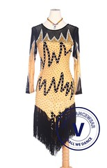 Yellow Latin Rhythm Rumba Swing Competition Dance Dress (Venus Dancewear) Tags: ballroomdress ballroomdancedress latindress dancewear venus latin dresses ballroom dance dress