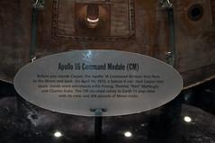 Apollo 16 Command Module (stevesheriw) Tags: 2019 spacecamp huntsville alabama apollo16 command module sign casper