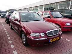 Rover 45 1.6 saloon 2002 (33-JF-BZ) (MilanWH) Tags: rover 45 16 saloon 2002 red 33jfbz rouge sedan fourdoor