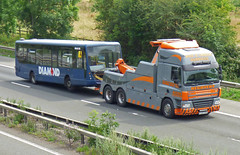 FJ07CXA  B14WTS (47604) Tags: diamond bus b14wts fj07cxa truck services heavy haulage