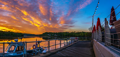 _DSC0085-Pano (johnjmurphyiii) Tags: 06457 clouds connecticut connecticutriver dawn harborpark middletown originalnef sky spring sunrise tamron18400 usa johnjmurphyiii
