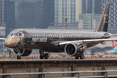 """Embraer E195-E2 PR-ZIQ """"Profit Hunter"""" 0103 (A.S. Kevin N.V.M.M. Chung) Tags: aviation aircraft aeroplane airport airlines mfm spotting macauinternationalairport plane taxiway taxiing embraer erj e195 e195e2 erj190400std speciallivery profithunter"""