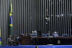 Plenário do Senado (Senado Federal) Tags: plenário sessãonãodeliberativa senadormeciasdejesusprbrr senadorizalcipsdbdf senadorreguffesempartidodf bandeiranacional brasília df brasil