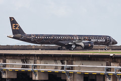 """Embraer E195-E2 PR-ZIQ """"Profit Hunter"""" 0202 (A.S. Kevin N.V.M.M. Chung) Tags: aviation aircraft aeroplane airport airlines mfm spotting macauinternationalairport plane taxiway taxiing embraer erj e195 e195e2 erj190400std speciallivery profithunter"""