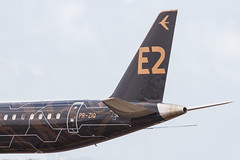 """Embraer E195-E2 PR-ZIQ """"Profit Hunter"""" 021 (A.S. Kevin N.V.M.M. Chung) Tags: aviation aircraft aeroplane airport airlines mfm spotting macauinternationalairport plane taxiway taxiing embraer erj e195 e195e2 erj190400std speciallivery profithunter closeup tail"""