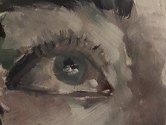 eye only eye (miketrujillo) Tags: drawing art oil paint color figure portrait realism illustration artists tumblr