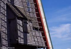 Moulin Deschodt (hobbyphoto18) Tags: moulinàvent windmill moulindeschodt moulindelabriarde wormhout ardoise slate gris grey ombre shadow nordpasdecalais hautsdefrance france pentaxk50 pentax k50