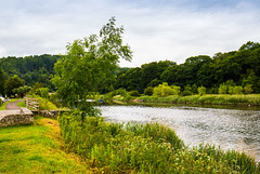 The Tranquil River Wye (Geordie_Snapper) Tags: canon5d4 canon2470mm forestofdean june landscape riverwye summer tintern tinternabbey