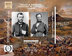 Registration open for the Grant & Sherman course starting Thursday, August 1, 2019, 6:00 p.m. at the Booth Western Art Museum. Register ccpe.kennesaw.edu .#civilwar (civilwarhistorian) Tags: civilwar