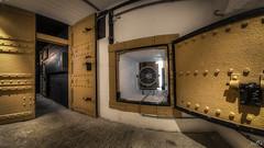 Casemate VII Searchlight (pe0s, Steven) Tags: apocalypse apocalyptic stalker war hrd bunker bunkers ww2 abandoned urbex fort fortress hidden casemate cannon kornwerderzand trench fisheye afsluitdijk 1933 kazematten