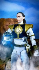Tommy Oliver (custombase) Tags: powerrangers lightningcollection white ranger tommy oliver diorama toyphotography tiger