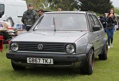G867 TKJ (Nivek.Old.Gold) Tags: 1990 volkswagen golf 5door 1272cc