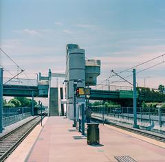 San Jose, California (bior) Tags: hasselblad500cm fujipro 160ns pro160ns mediumformat 120 lightrail vta blossomhill trainstation